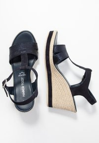 Marco Tozzi - High heeled sandals - navy - 3