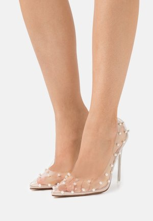 TREASURE - Classic heels - clear