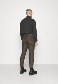 Shelby & Sons - STANLEY TROUSER - Kalhoty - brown - 2