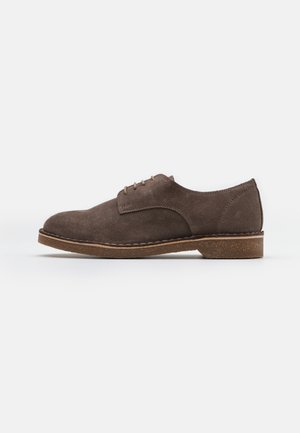 SLHRIGA DERBY - Lace-ups - almondine