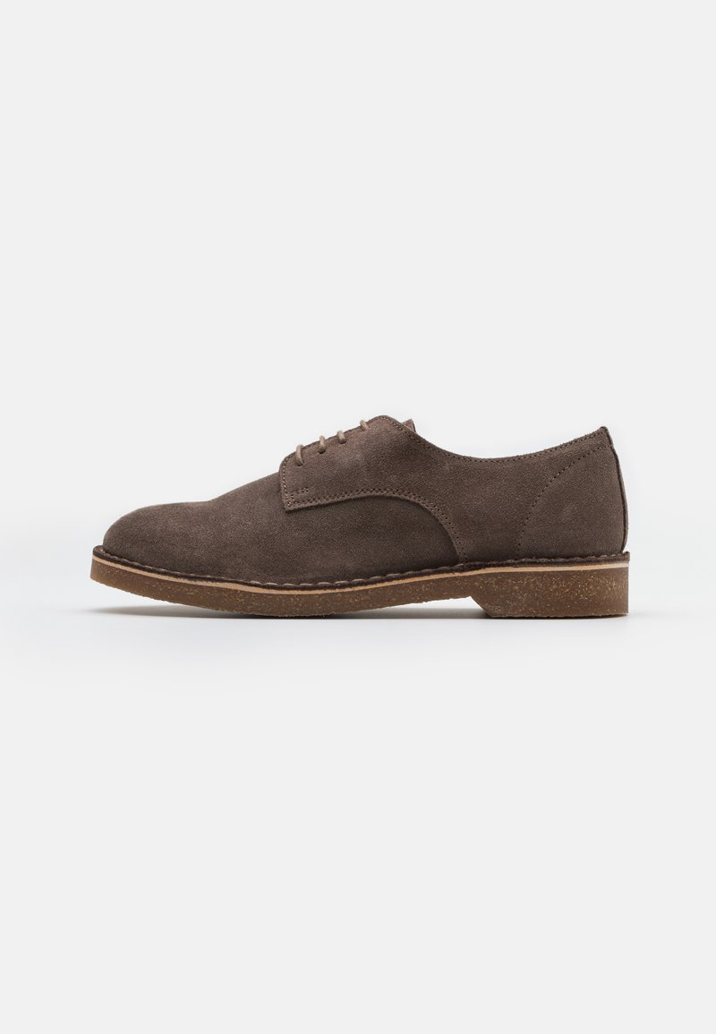 Selected Homme - SLHRIGA DERBY - Stringate - almondine