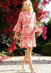 Amy Vermont - Day dress - weiß rot - 1