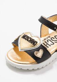 MOSCHINO - Sandals - black - 2