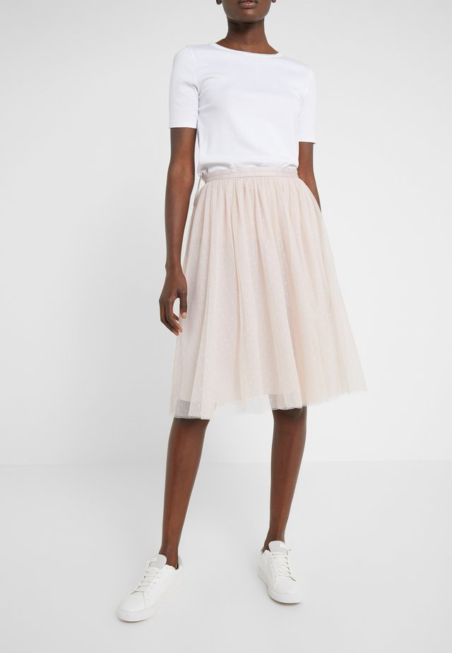 KISSES TULLE MIDI SKIRT - A-snit nederdel/ A-formede nederdele - french rose
