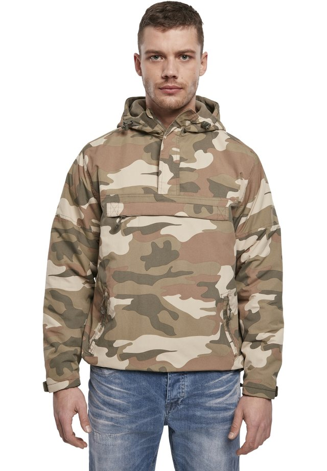 Windbreaker - wood camo