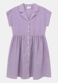 Grunt - JANE CHECK  - Robe chemise - light purple - 0