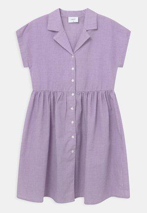 JANE CHECK  - Shirt dress - light purple