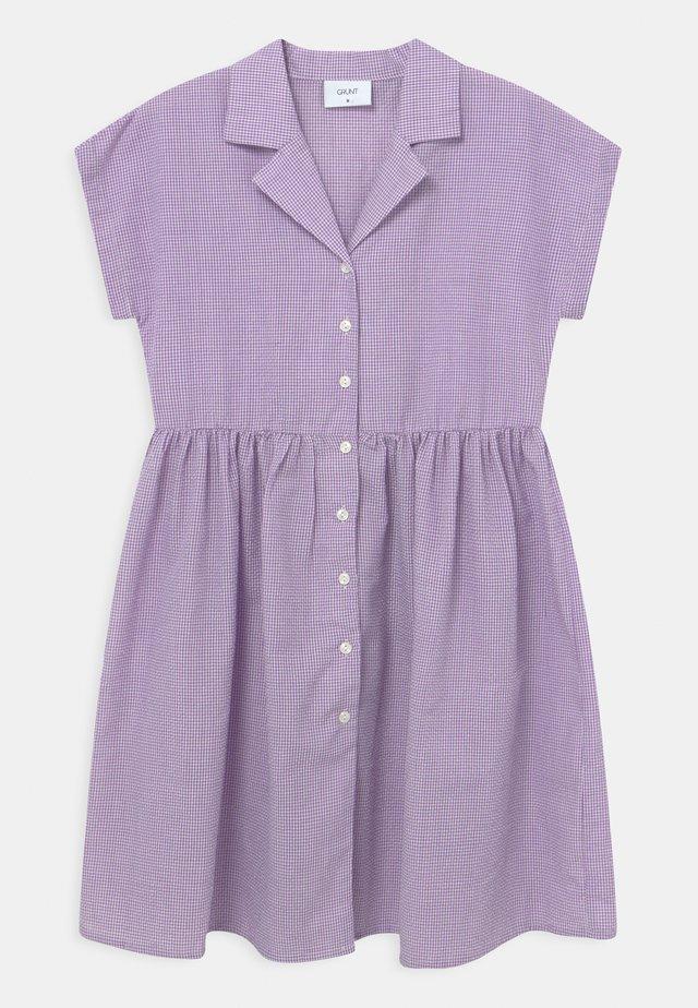 JANE CHECK  - Košilové šaty - light purple