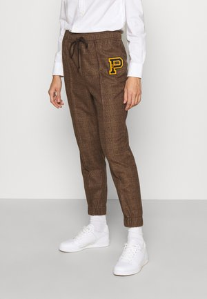 ATHLETIC - Trousers - brown
