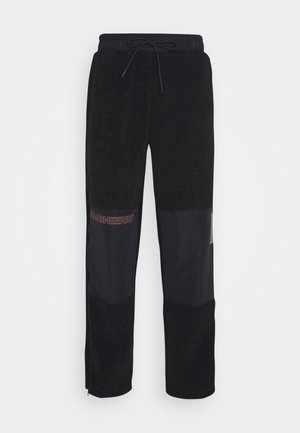 ZIP PANT - Tracksuit bottoms - black