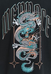 Mennace - HAVANA DRAGON REGULAR - T-shirt con stampa - black - 6