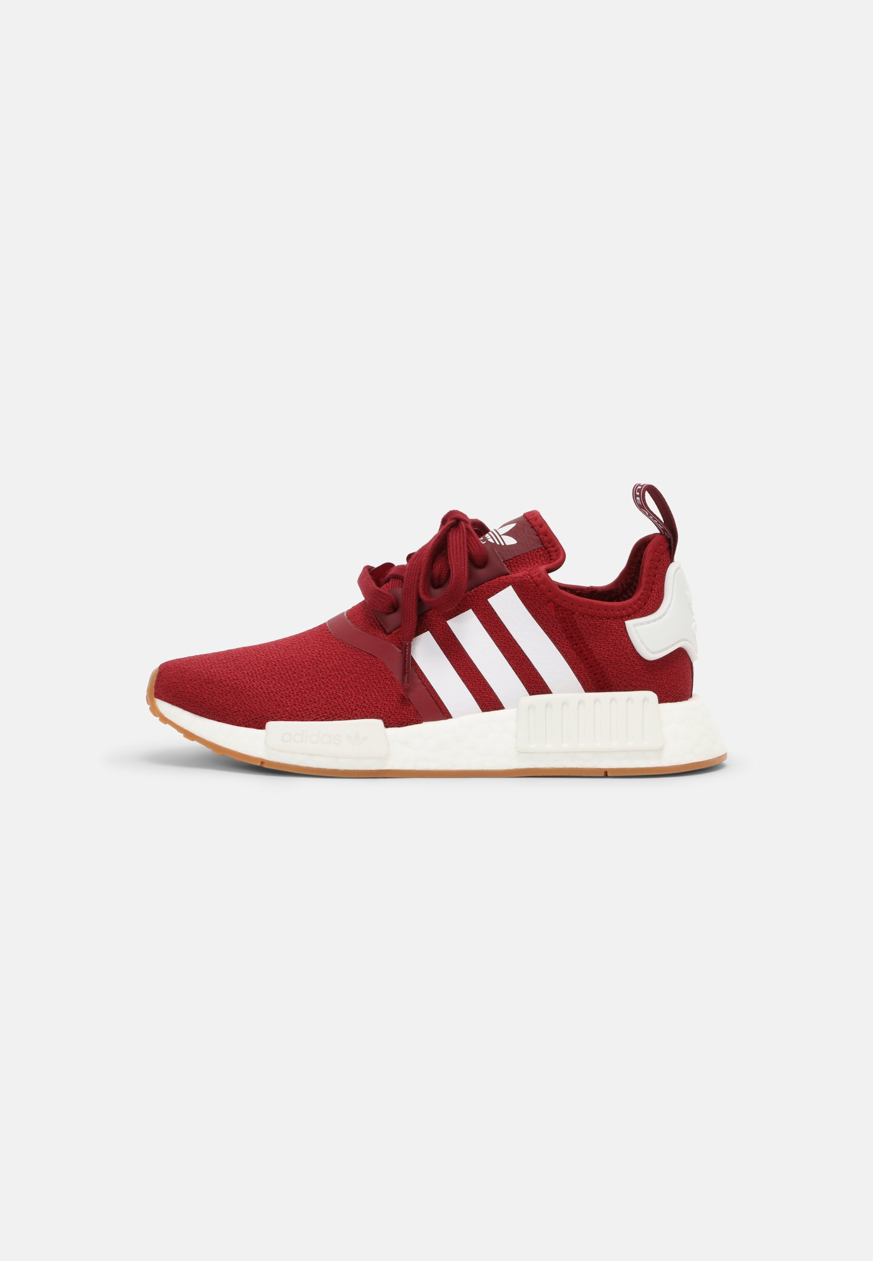 Homme NMD_R1 BOOST SHOES - Baskets basses - collegiate burgundy/white/gum
