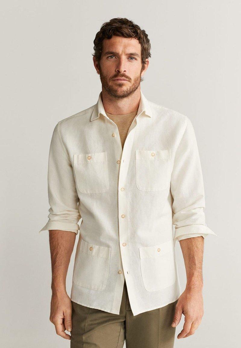 Mango - SPACE - Shirt - weiß