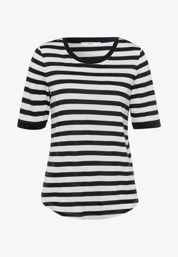 STYLE COLETTE - Print T-shirt - navy