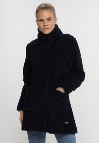 Bergans - OSLO LOOSE FIT - Zimní kabát - dark navy - 0