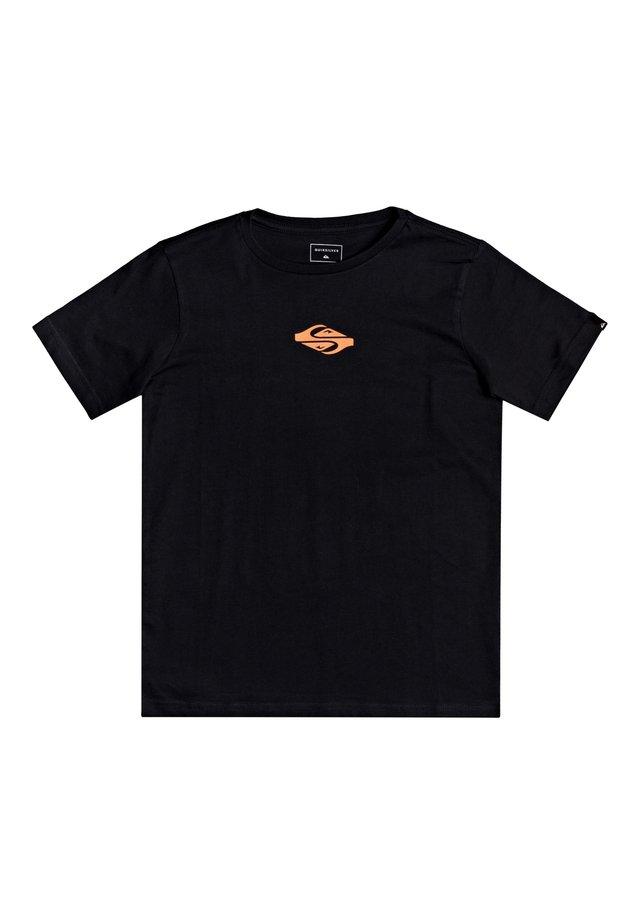EITHER WAY  - T-shirt imprimé - black