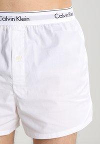 Calvin Klein Underwear - MODERN BOXER SLIM 2 PACK - Boxershorts - white - 3