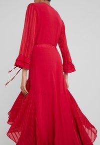 Pinko - ZUCCHERINO ABITO MAROCAINE - Společenské šaty - rosso persiano - 3