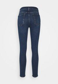 7 for all mankind - SKINNY CROP - Jeans Skinny Fit - dark blue - 1