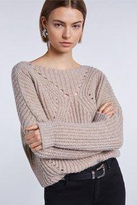 SET - Sweatshirt - beige - 3
