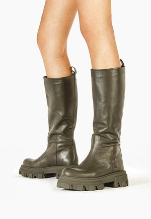 Plateaustiefel - army ary
