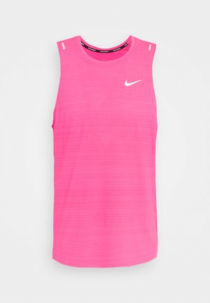 MILER TANK - Sports shirt - hyper pink/reflective silver