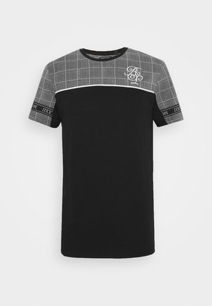 TENCH - Print T-shirt - black