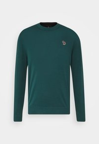 PS Paul Smith - MENS CREW NECK ZEBRA - Jumper - dark green - 4