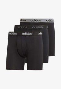 adidas Performance - CLIMACOOL BRIEFS 3 PAIRS - Panties - black - 8
