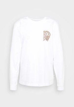 PEACE DRIP - Long sleeved top - white