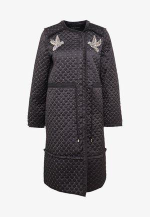 BIRDIE LOVE QUILTED COAT - Classic coat - graphite