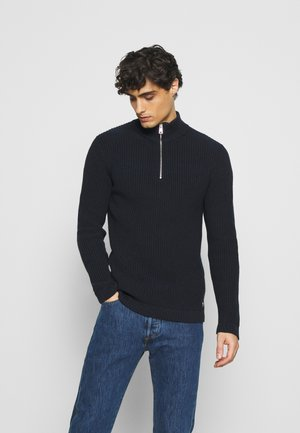 STRUCTURED TROYER - Pullover - sky captain blue