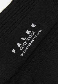 FALKE - COSY BOOT - Sokker - black - 2