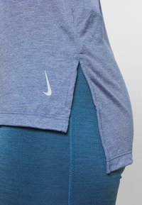 Nike Performance - YOGA LAYER TANK - Camiseta de deporte - diffused blue - 4