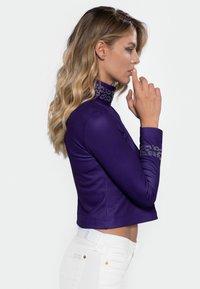 Heart and Soul - Longsleeve - purple - 2