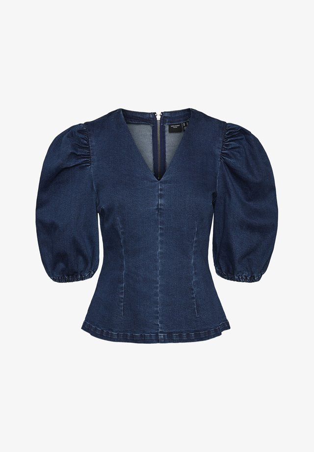 VMAIMEE  - Bluser - dark blue denim