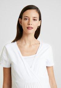 Esprit Maternity - NURSING - T-shirt basic - white - 3