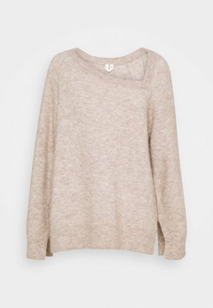 SWEATER - Jumper - oat melange
