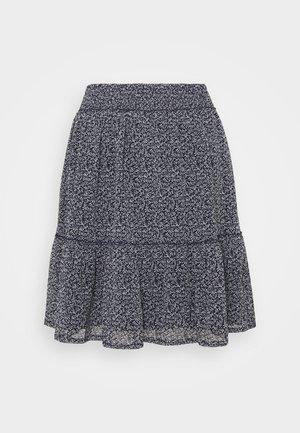 SKIRT - Mini skirt - dark blue