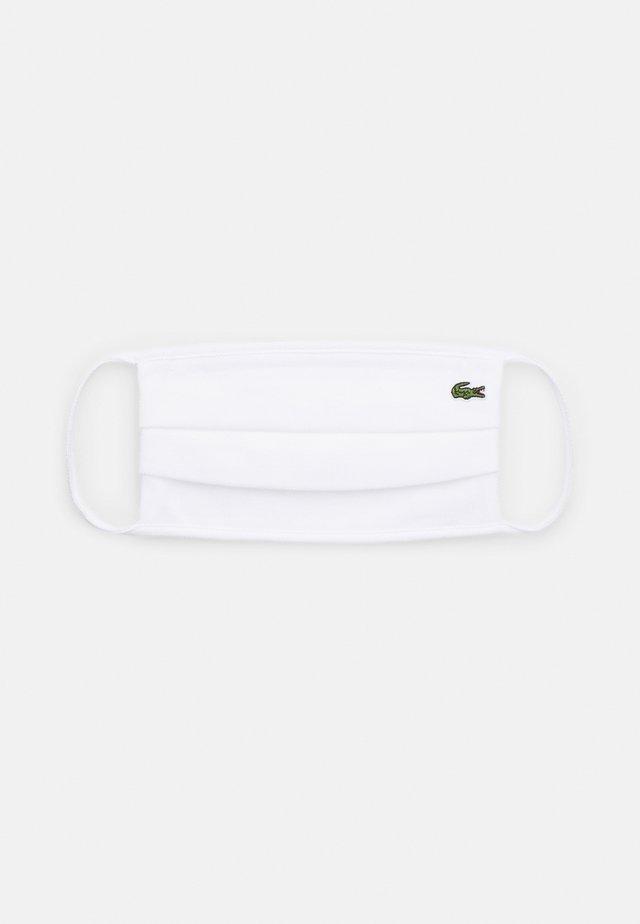 UNISEX - Mascarilla de tela - white