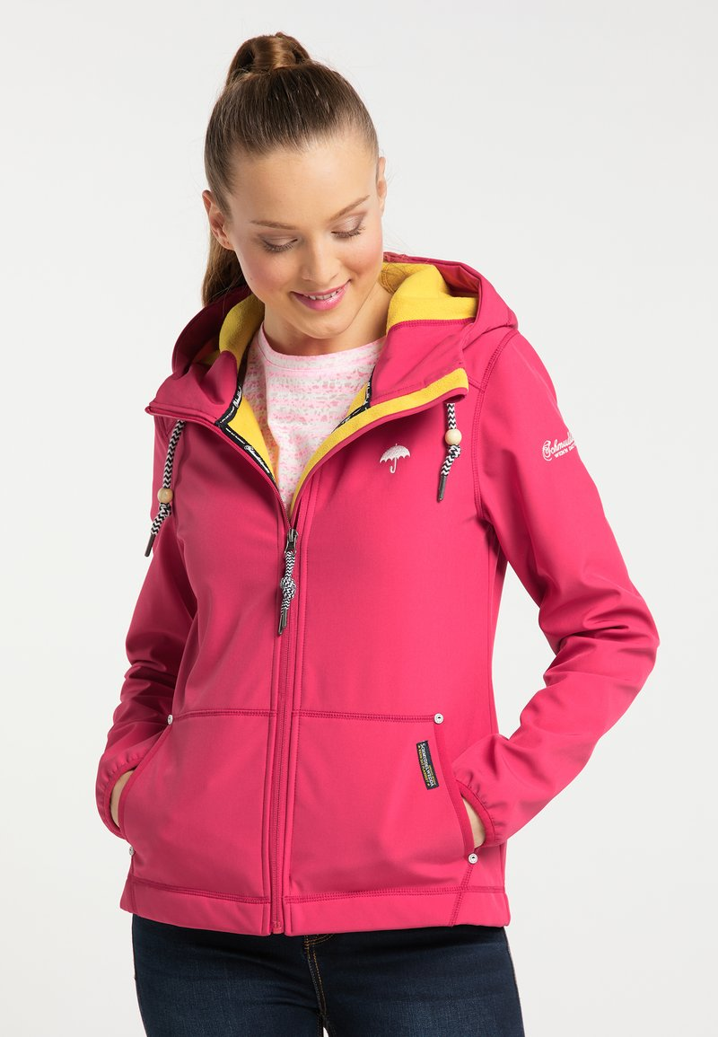 Schmuddelwedda - Outdoor jacket - dark pink
