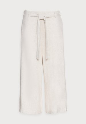 KALINY PANTS CROPPED - Trousers - light sand