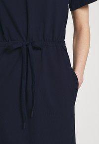 Lacoste - Jersey dress - navy blue - 4