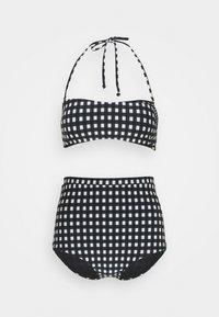 BELLA TALAIA FIXED SET - Bikini - black/white
