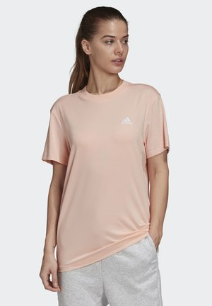 MUST HAVES 3-STRIPES T-SHIRT - Print T-shirt - pink