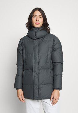HOODED PUFFER COAT UNISEX - Winter coat - slate