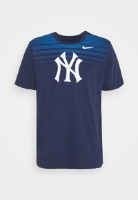 Nike Performance - MLB NEW YORK YANKEES STRIPE TEE - Klubové oblečení - midnight navy - 4