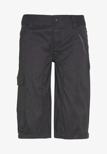 BIKESHORTS SEEK - Pantaloncini 3/4 - black