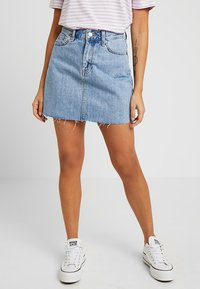 Dr.Denim Petite - MALLORY - Denim skirt - light retro - 0