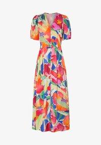 OYSHO - LONG MAXI-FLORAL DRESS 31992115 - Maxi dress - multi-coloured - 6